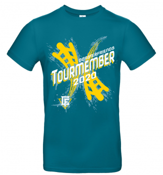 "Damen T-Shirt ""Tourmember2020"""