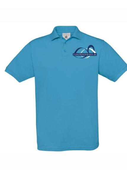 coasterfriends shop kinder polo shirt t rkis mit logo. Black Bedroom Furniture Sets. Home Design Ideas