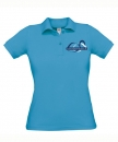 "Damen Polo-Shirt ""Atoll"" mit Logo-Stick"