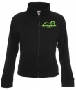 Damen Sweat Jacket mit Logo-Stick
