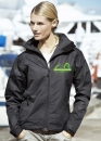 Damen High-Tech Regenjacke mit Logo-Stick (Auslaufmodell)